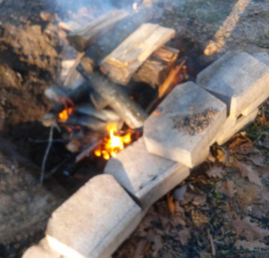 How to Build a Cinder Block Smoker Burn Pit