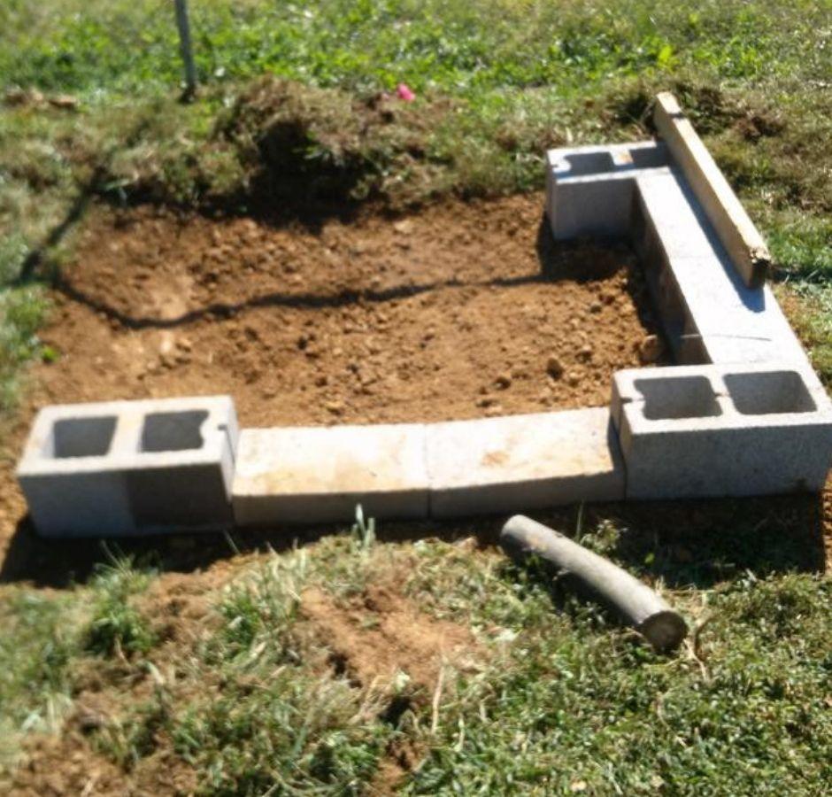 How to Build a Cinder Block Smoker 2
