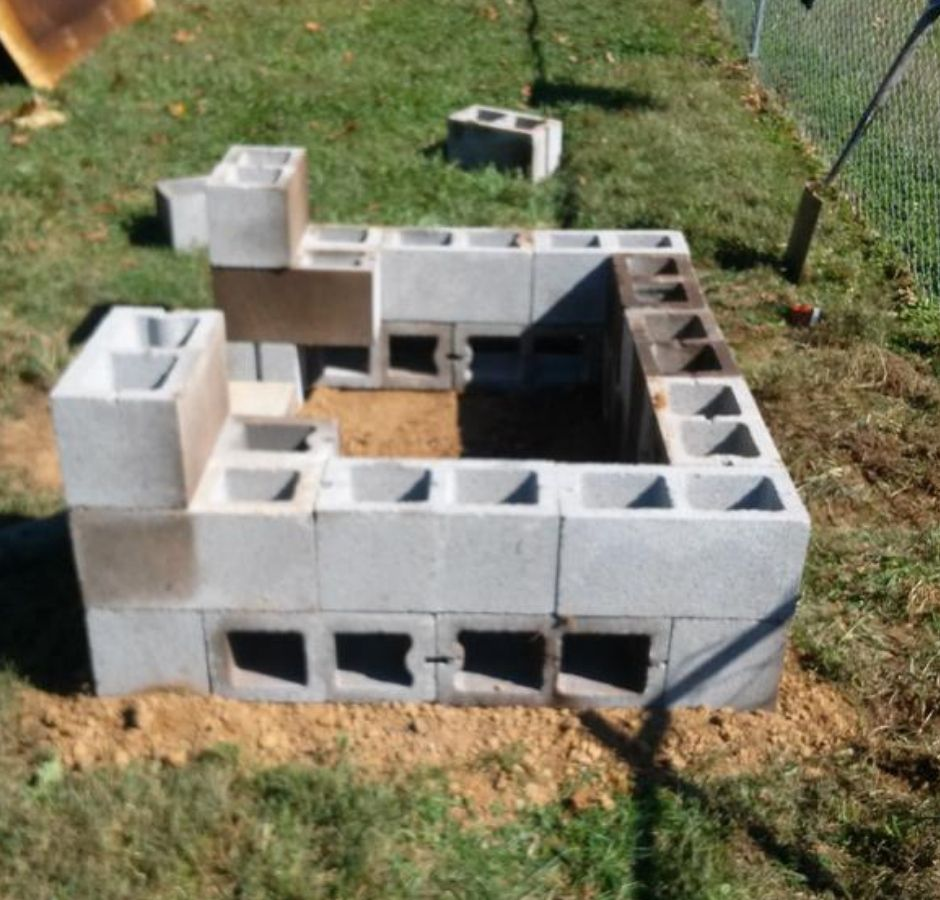 How to Build a Cinder Block Smoker Second Level