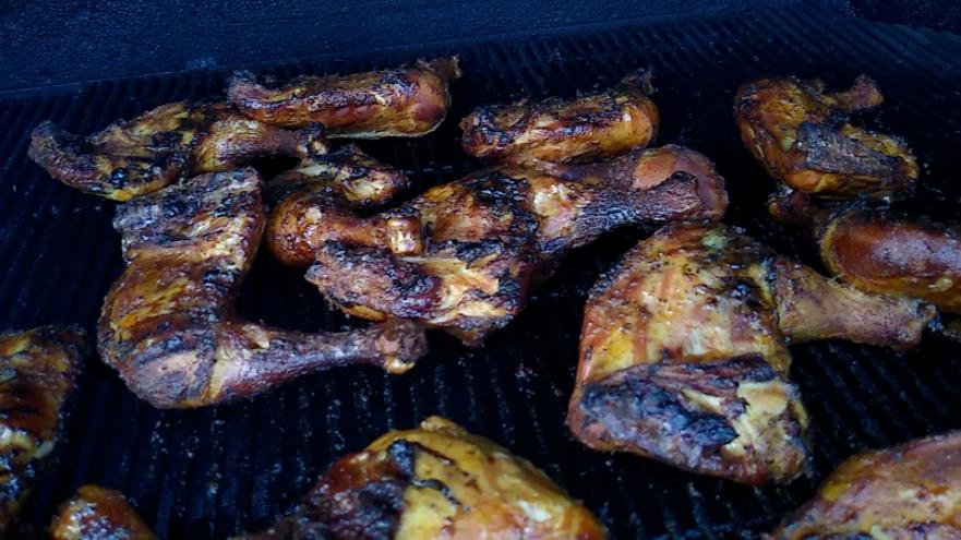chicken quarters done final shot